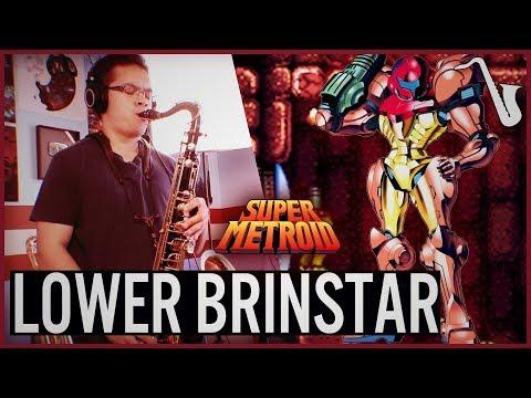 Super Metroid: Lower Brinstar Jazz Video Game Saxophone Cover