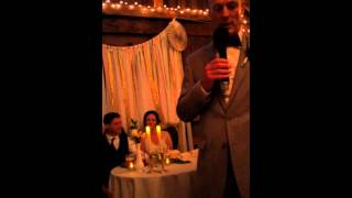 Humorous father of the bride speech