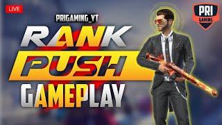 [🔴Live] Freefire : Rank Push to Grandmaster   Full Rush Gameplay with Grandmaster Players