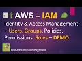 AWS Security - IAM (Part-1) | Users, Groups, Policy - Identity & Access Management