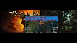 CAN I WIN AGAINST BUFFED URGOT? Mordekaiser Ranked Top lane League of Legends Gameplay