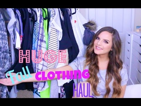 HUGE Fall Clothing Haul & Try On!