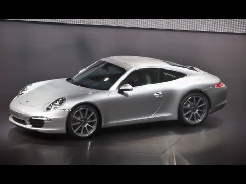 2011 Frankfurt: 2012 Porsche 911