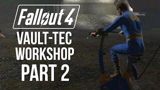 Видео прохождение игры фоллаут 4 vault tec workshop