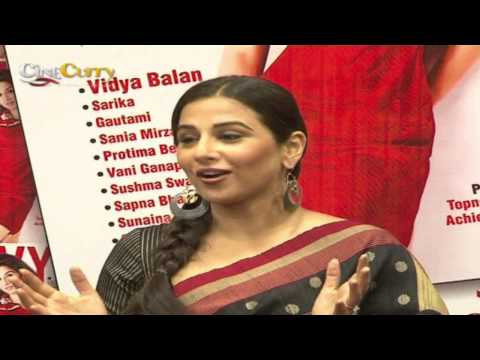Vidya Balan On The Cover Of Savvy Magazine video
