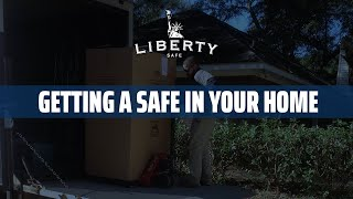 Getting Your New Safe Into Your Home