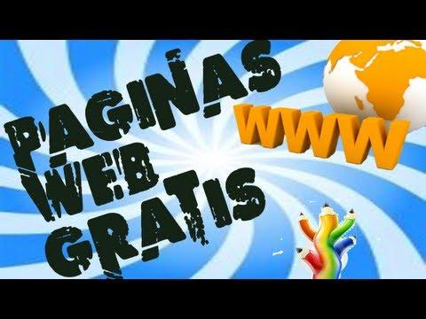 Como crear página web desde cero y gratis sin publicidad 2013