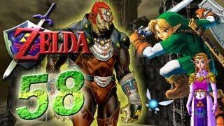 Let's Play The Legend of Zelda Ocarina of Time Part 58: Großmeister des Bösen Ganondorf Battle
