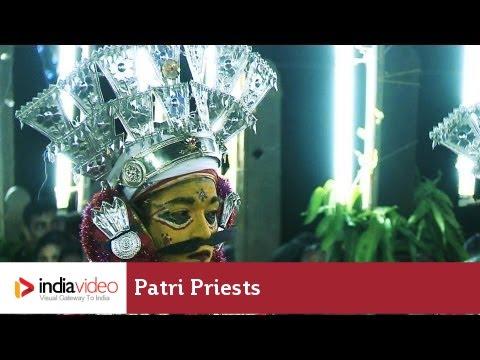 Patri priests at the Nemotsava Festival, Tulunadu