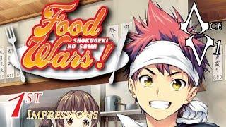 Shokugeki No Soma Food Wars Anime New 2015 1st Impressions