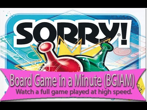 Sorry Board Game in a