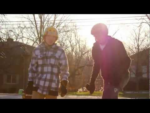 DankTown Media: Winter Longboarding