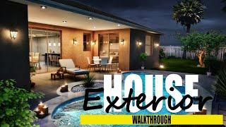 House Exterior & Interior Architectural Walkthrough Animation