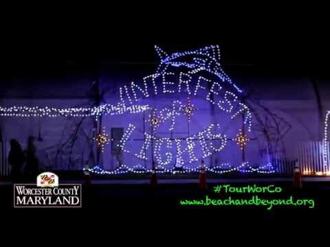 'Behind The Scenes   Winterfest of Lights'   for Worcester County Tourism
