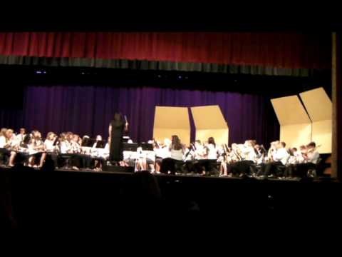 2013 East Islip Middle School Spring Band Concert - Part 1