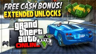 GTA 5 Online - Rare DLC Unlocks & Secret $300k Money Bonus PS4 ! (GTA V Gameplay)
