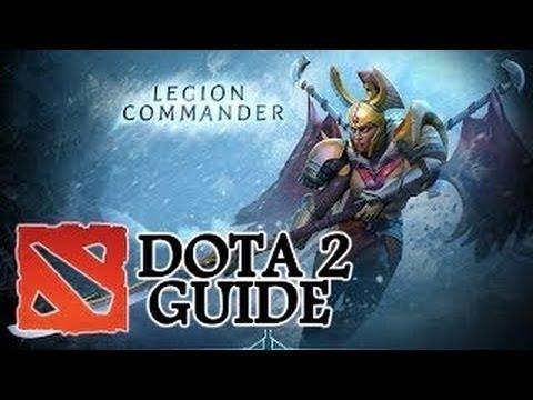 Гайд Legion Commander dota 2 Дуэль или зассал?