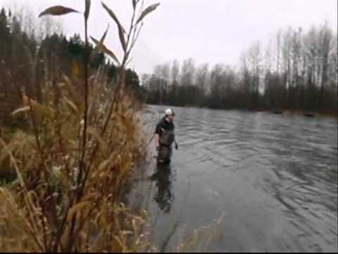 Winter bobber fishing