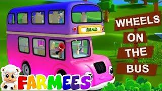 as rodas do onibus | rimas de berçário em portugues | Wheels On The Bus