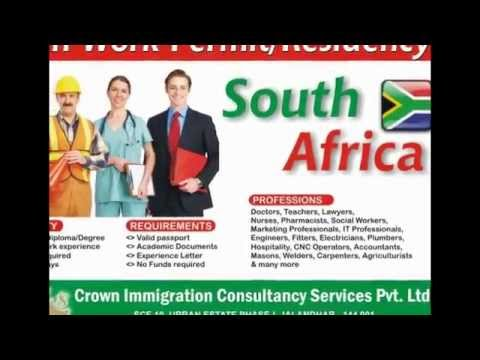 Crown Immigration YouTube Channel South Africa Visa