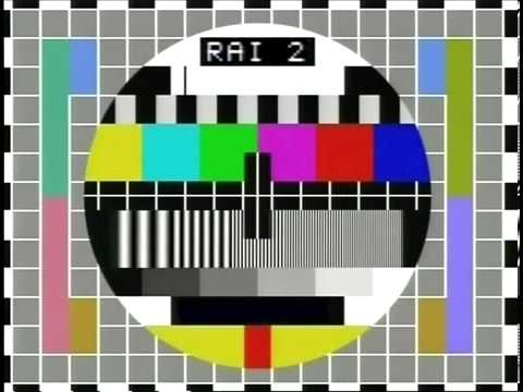 Musica Monoscopio Rai 2 anni '80 Sequenza Originale 03