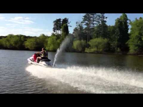 Lake Allatoona on Yamaha 800