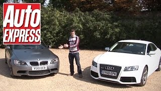 (6.19 MB) Audi RS5 vs BMW M3 review - Auto Express Mp3