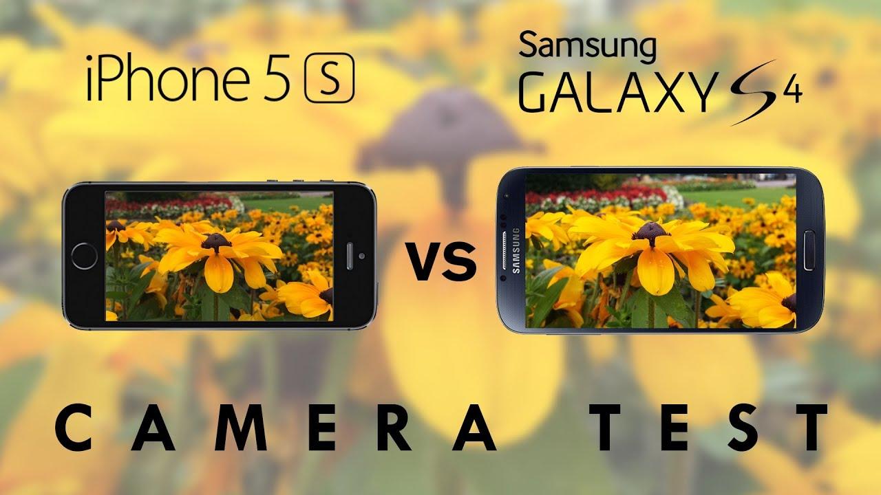 Camera Iphone 5s vs Galaxy s5 Iphone 5s vs Galaxy s4