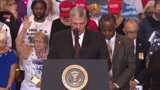 MUST WATCH: Franklin Graham AMAZING SPEECH PRAYS at President Donald Trump Rally Phoenix, Arizona