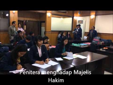 KOMPILASI VIDEO KLINIK HUKUM PERDATA ROLE PLAY PROSES SIDANG DI PN PLANNING COMPONENT OKTOBER 2014