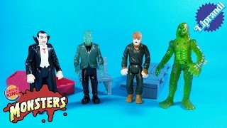 BURGER KING KIDS MEAL - UNIVERSAL MONSTERS RECENSIONE (ita)