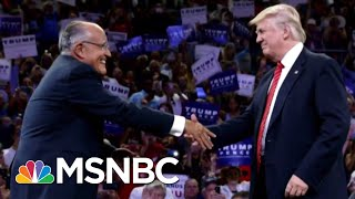 Lawrence: Rudy Giuliani Gives 'Incoherent' Defense Of President Donald Trump | The Last Word | MSNBC