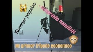 Mi trípode + comprando maquillaje