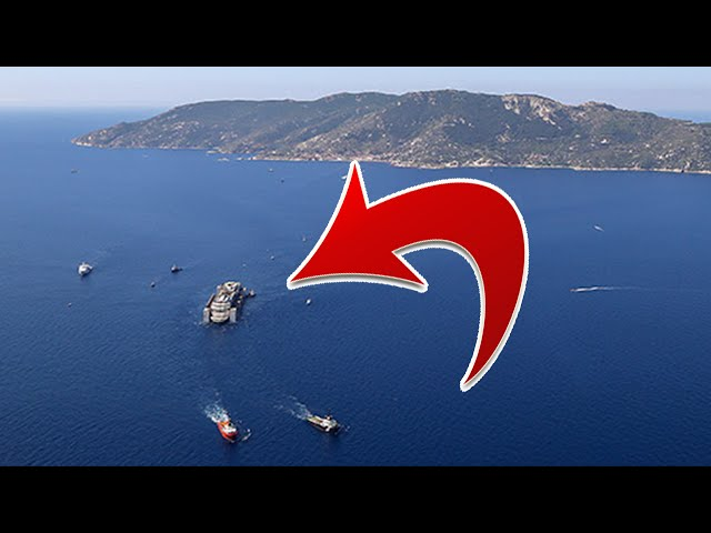 Costa Concordia Refloat After 2012 Ship Crash - Departure Video