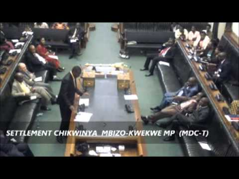 Zimbabwe Parliament Discusses Corruption- Settlement Chikwinya And Joseph Chinotimba video