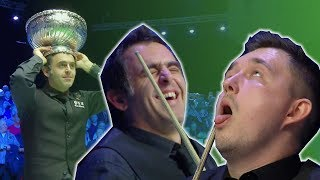 Allan Taylor's Snooker Player Impressions