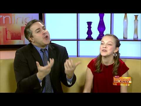 """Annie"" Cast Members Andrew Varela and KyLee Hennes on TMJ4 The Morning Blend"