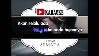 Lagu Karaoke ARMADA BAND - JAWAB (POP INDONESIA) | Official Karaoke Musik Video