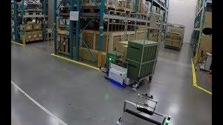 【東芝】次世代型自動搬送ロボット