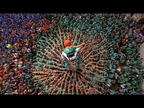 Concurs de Castells de Tarragona - 4d10fm Castellers de Vilafranca