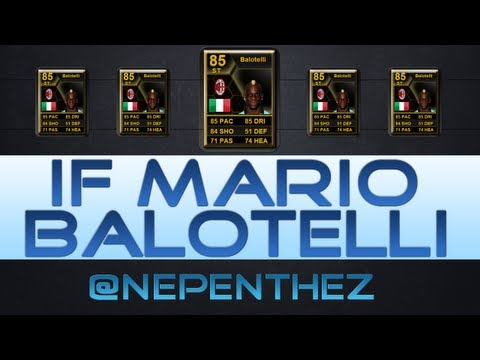 PLAYER REVIEW - FIFA 13 Ultimate Team Player Review - IN FORM MARIO BALOTELLI