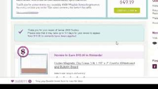 Getting Bonus Wayfair Cash Back With Product Reviews