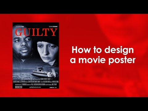 How to design a movie poster in Photoshop
