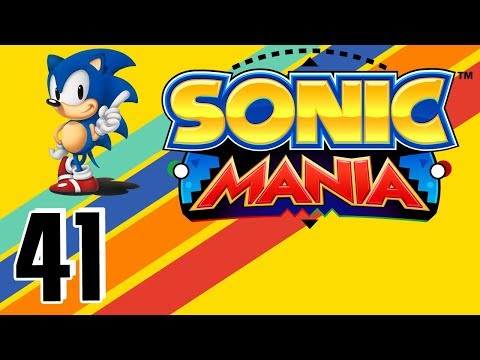 Sonic Mania playthrough pt41 - Emerald 7 Is...EASY?! Return to Titanic Monarch!