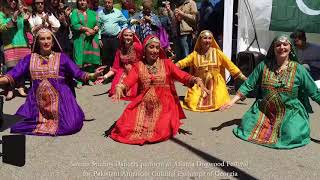 Balochi Dance Performance by Sanam Studios at Atlanta Dogwood Festival 2018