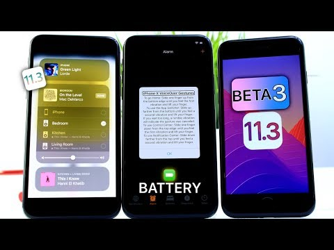 iOS 11.3 Beta 3 Battery Life Update, Public Beta Release & More Changes