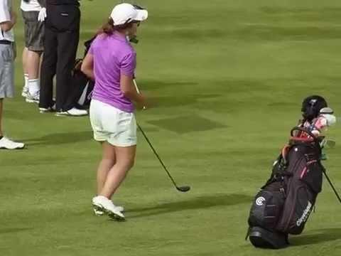 Lydia Ko Hybrid swing and routine (before turning to Pro 2013)