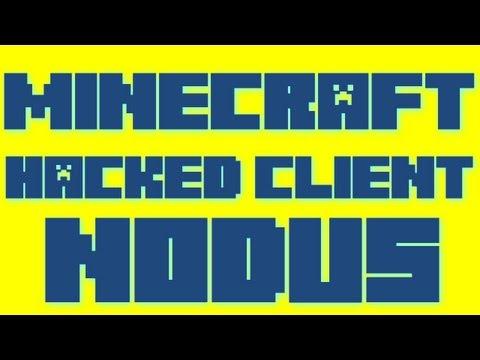 Minecraft - 1.4.5 Hacked Client - Nodus - WiZARD HAX