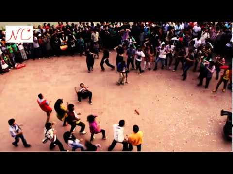 Icc World Twenty20 Bangladesh 2014 - Flash Mob,  United International University video