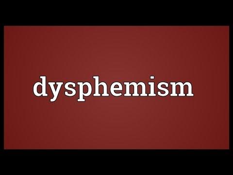 Header of dysphemism